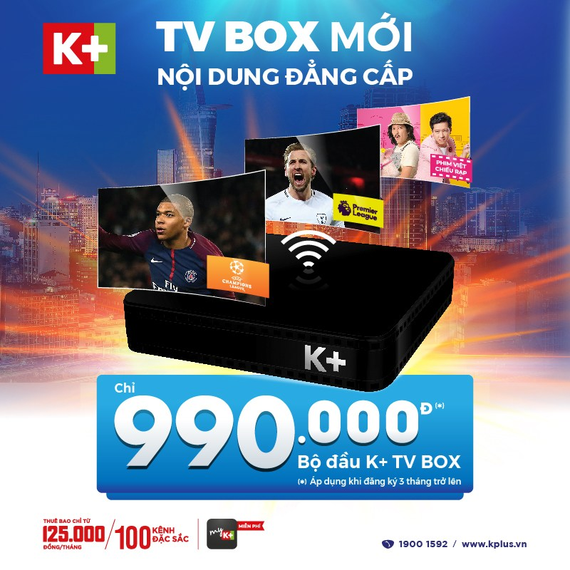 K+ TV BOX mới