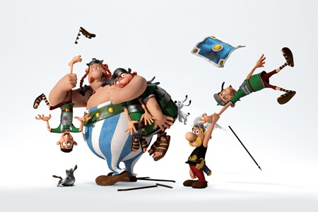 Asterix: The land of the Gods – Đối đầu với Ceasar