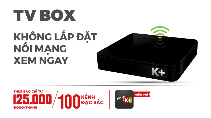 Gói K+ TV BOX