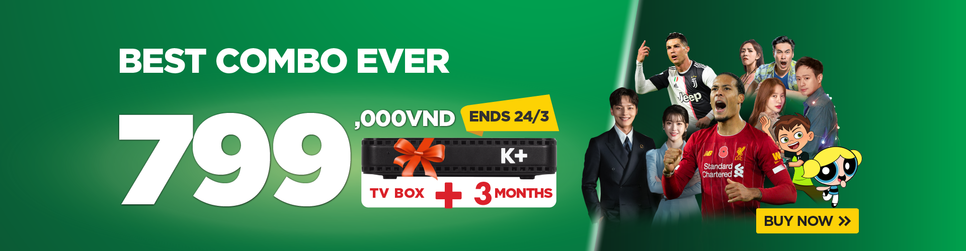 TV BOX 3 month 799,000vnd